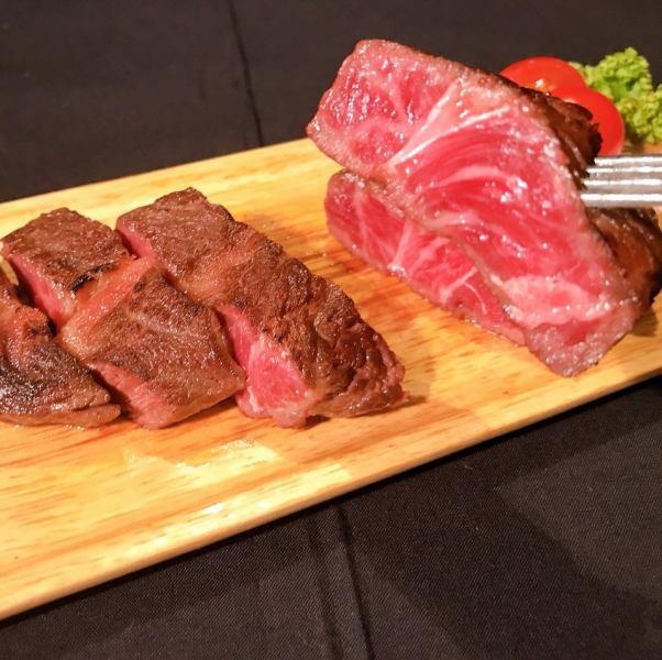 短角和牛のステーキ